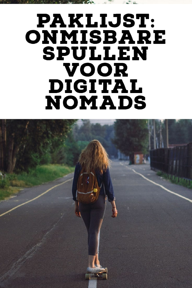 Paklijst voor digital nomads