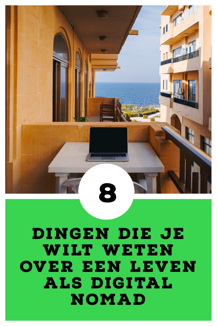 Wat is een digital nomad