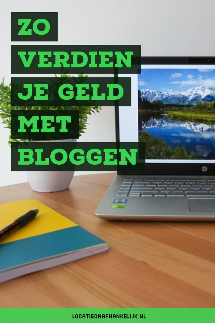 Zo verdien je geld met bloggen - 15 manieren