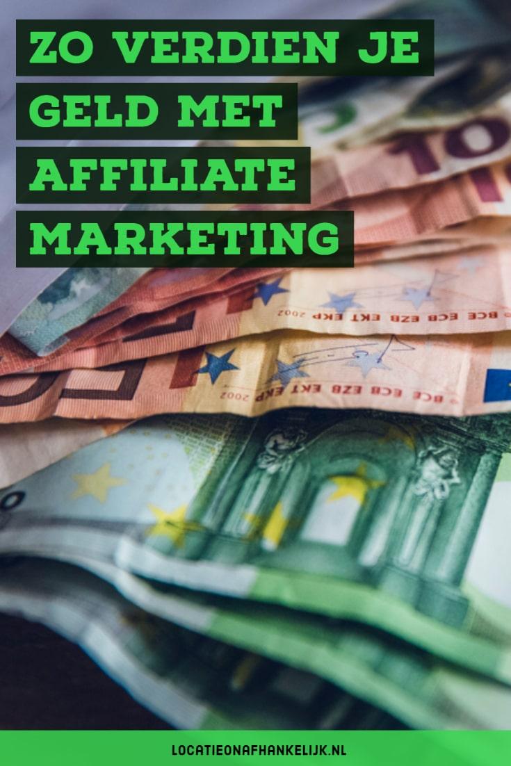 Geld verdienen met affiliate marketing - zo doe je dat
