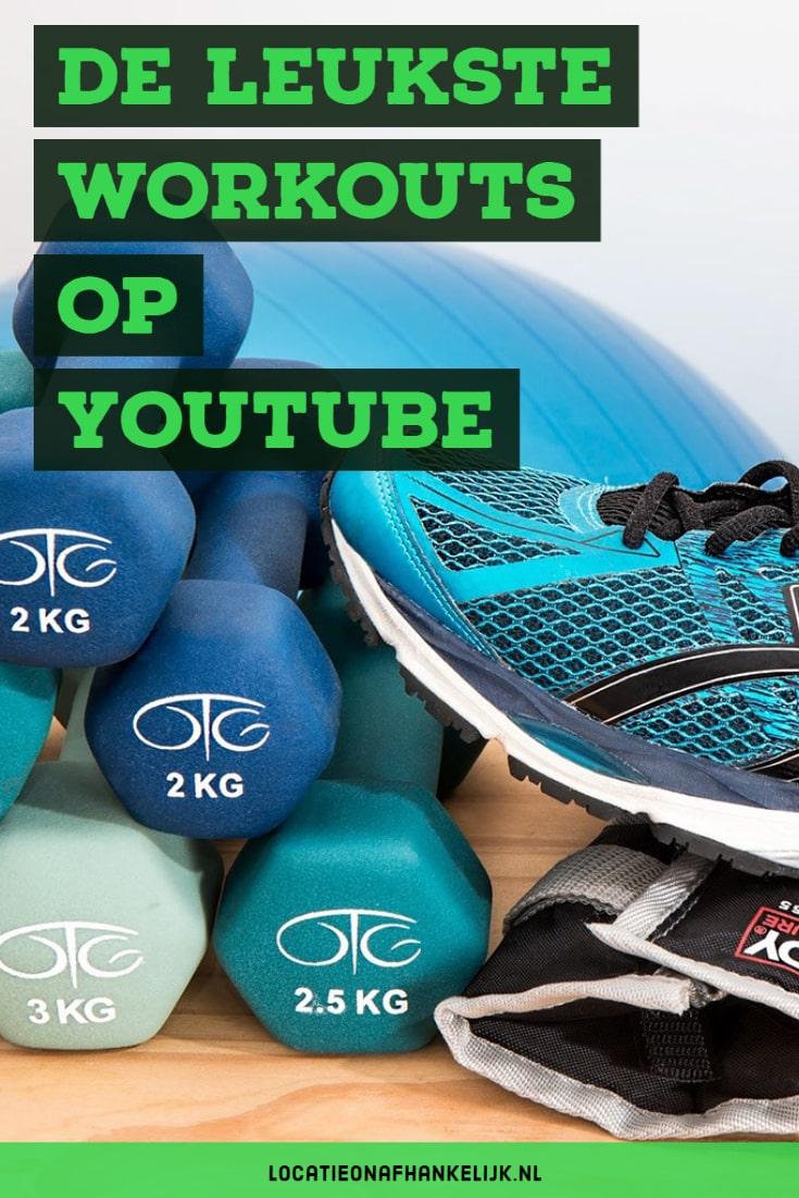 Locatieonafhankelijk sporten - de leukste workout video's op YouTube